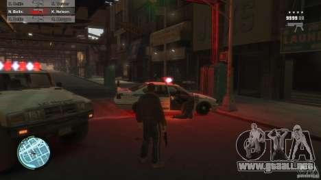 First Person Shooter Mod para GTA 4 adelante de pantalla