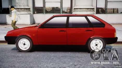 Vaz-21093i para GTA 4 Vista posterior izquierda