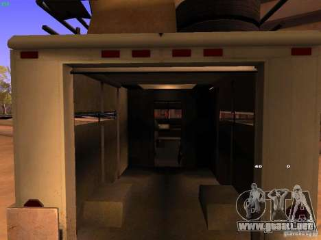 Monster Van para visión interna GTA San Andreas