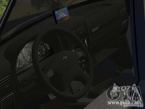 GAZ Volga 310221 para GTA San Andreas vista posterior izquierda