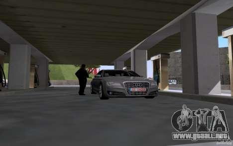Auto petrolero en gasolinera para GTA San Andreas