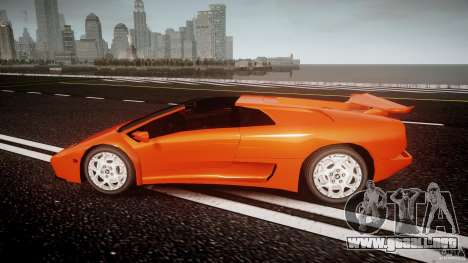 Lamborghini Diablo 6.0 VT para GTA 4 left