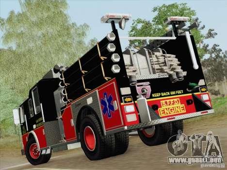 Seagrave Marauder Engine SFFD para las ruedas de GTA San Andreas