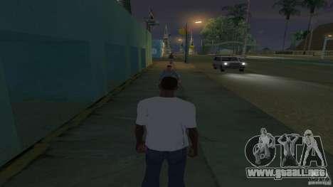 la camiseta es una cara de Troll para GTA San Andreas segunda pantalla