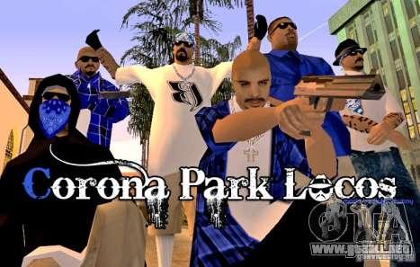 Corona Park Locos para GTA San Andreas