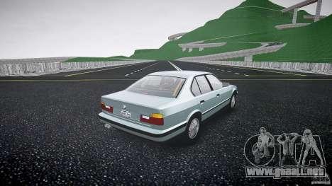 BMW 535i E34 para GTA 4 vista interior
