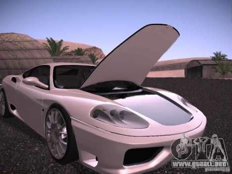 Ferrari 360 Modena para el motor de GTA San Andreas