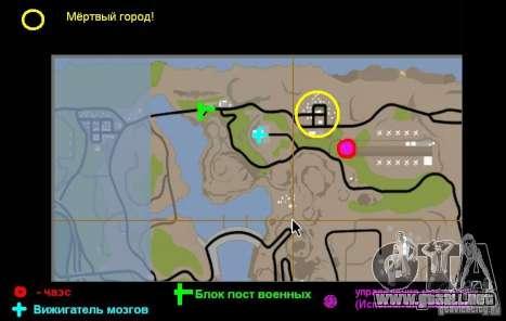 Chernobyl v. 1 para GTA San Andreas quinta pantalla