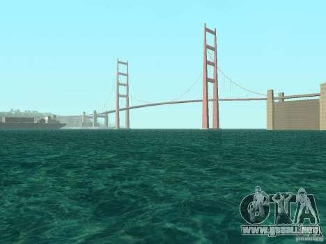 Nuevas texturas agua y humo para GTA San Andreas