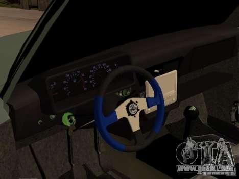 Lada Niva 21214 Tuning para vista lateral GTA San Andreas