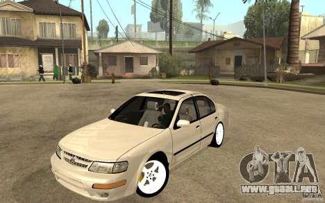 Nissan Maxima 1998 para GTA San Andreas