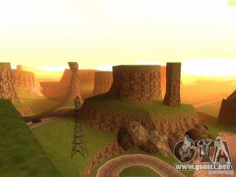 Without the desert para GTA San Andreas segunda pantalla