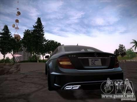 Improved Vehicle Lights Mod para GTA San Andreas tercera pantalla