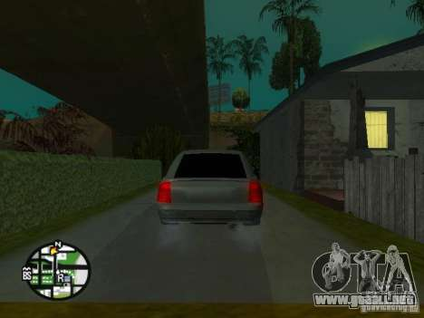 LADA Priora 2172 para vista inferior GTA San Andreas