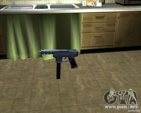Tec 9 (HQ) para GTA San Andreas