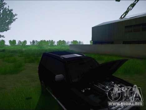 Mitsubishi Pajero 2012 para visión interna GTA San Andreas