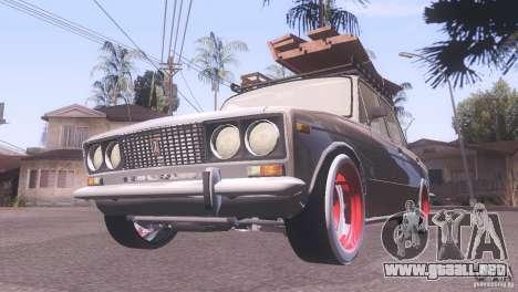 Estilo de rata Tuning 2106 VAZ para GTA San Andreas