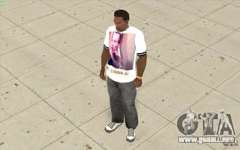 Camiseta: Exuberante Slavik para GTA San Andreas tercera pantalla