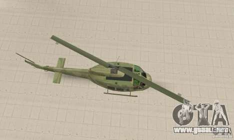 UH-1 Iroquois (Huey) para la visión correcta GTA San Andreas
