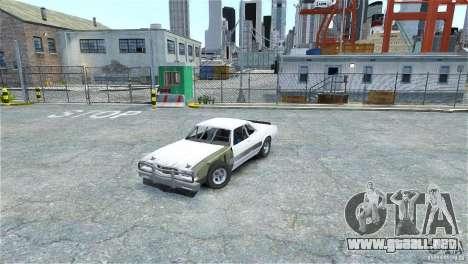 Jupiter Eagleray MK5 v.2 para GTA 4 left