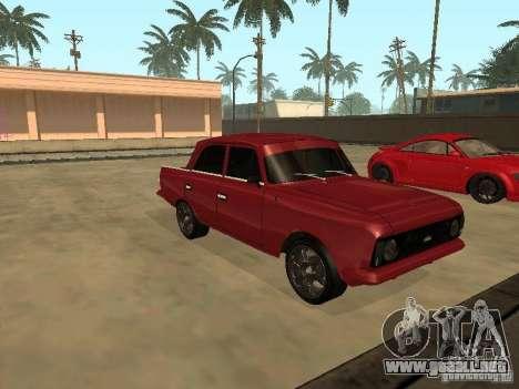 AZLK 412 IE para GTA San Andreas left