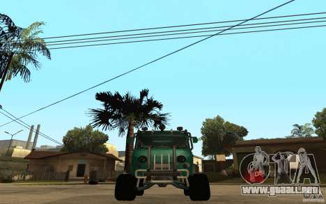 Pan UAZ duro todoterreno para la visión correcta GTA San Andreas