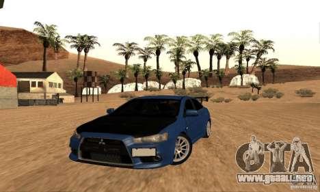 New Drift Zone para GTA San Andreas décimo de pantalla