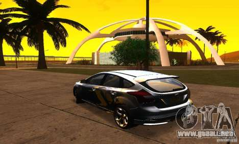 Ford Focus 3 para GTA San Andreas left