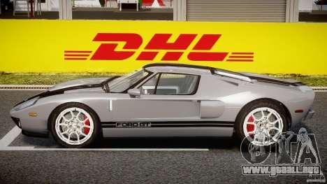 Ford GT 2006 v1.0 para GTA 4 Vista posterior izquierda