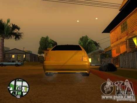 Vaz-2112 coche Tuning para vista lateral GTA San Andreas