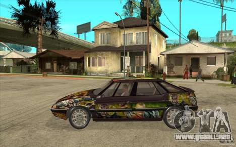 Citroen XM Custom para GTA San Andreas left