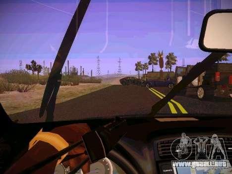 Lexus I SF para visión interna GTA San Andreas