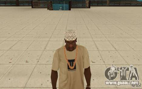 Bandana hellrider para GTA San Andreas