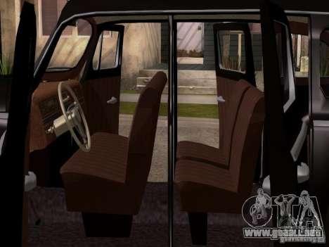 ZiS 110 para visión interna GTA San Andreas