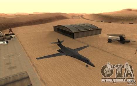 B1-B LANCER para visión interna GTA San Andreas
