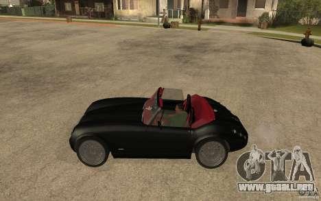 Wiesmann Roadster MF3 para GTA San Andreas left