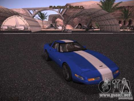 Chevrolet Corvette Grand Sport para visión interna GTA San Andreas