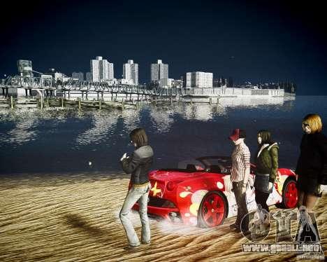 Ferrari California DC Texture para GTA 4 visión correcta