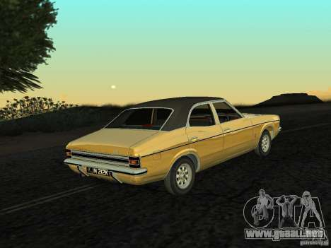 Ford Cortina MK 3 Life On Mars para GTA San Andreas left