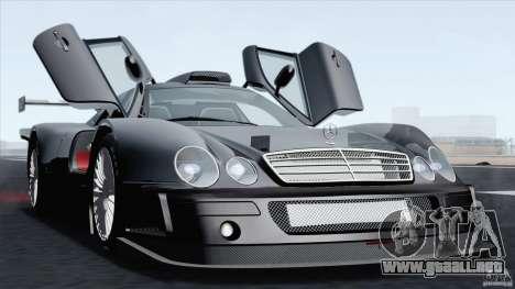 Mercedes-Benz CLK GTR Race Car para la visión correcta GTA San Andreas