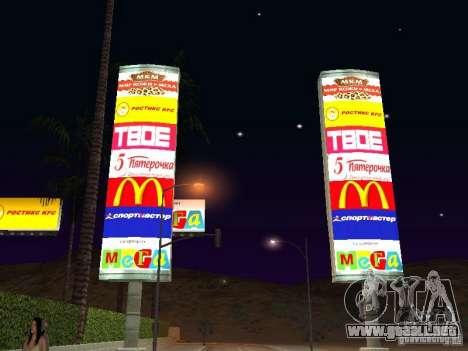 Tienda rusa en Las Venturase para GTA San Andreas