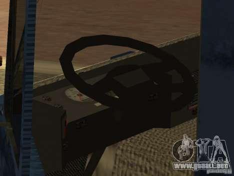 Tatra 815 para visión interna GTA San Andreas