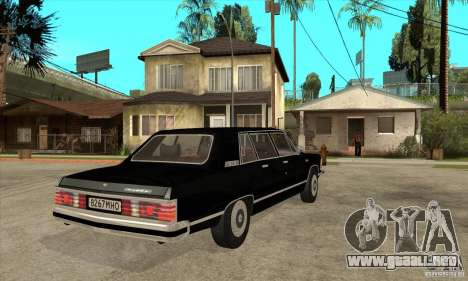GAZ 14 Chaika para la visión correcta GTA San Andreas