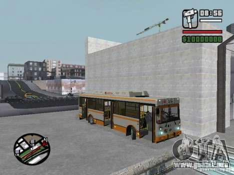 LIAZ 5283.70 para visión interna GTA San Andreas