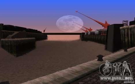 ENBSeries para v2 de 128-512 MB tarjeta de video para GTA San Andreas tercera pantalla