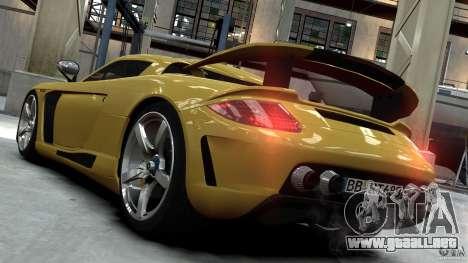 Porsche Carrera GT Gemballa Mirage EPM para GTA 4 left