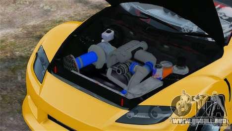 Mazda RX-8 Mad Mike para GTA 4 vista hacia atrás