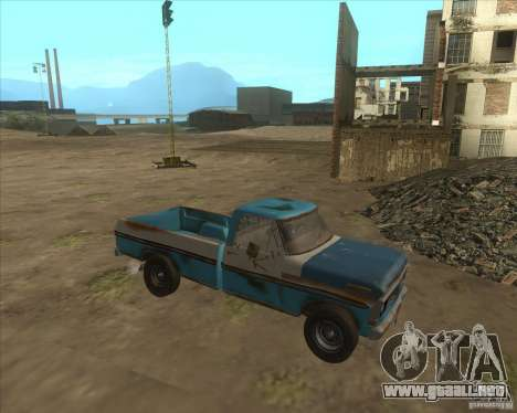 Ford F150 1978 old crate edition para GTA San Andreas left