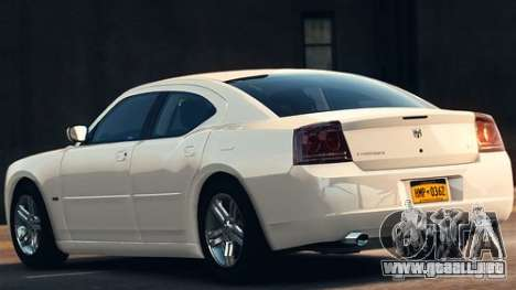 Dodge Charger RT 2007 v.2.0 para GTA 4 left
