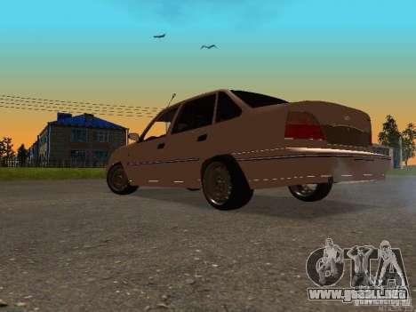 Daewoo Nexia para GTA San Andreas vista posterior izquierda
